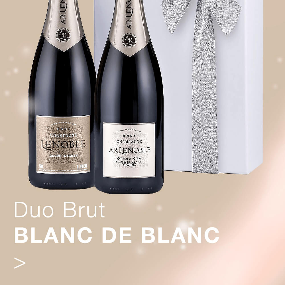 Gift.be AR Lenoble product duo brut blanc de blanc