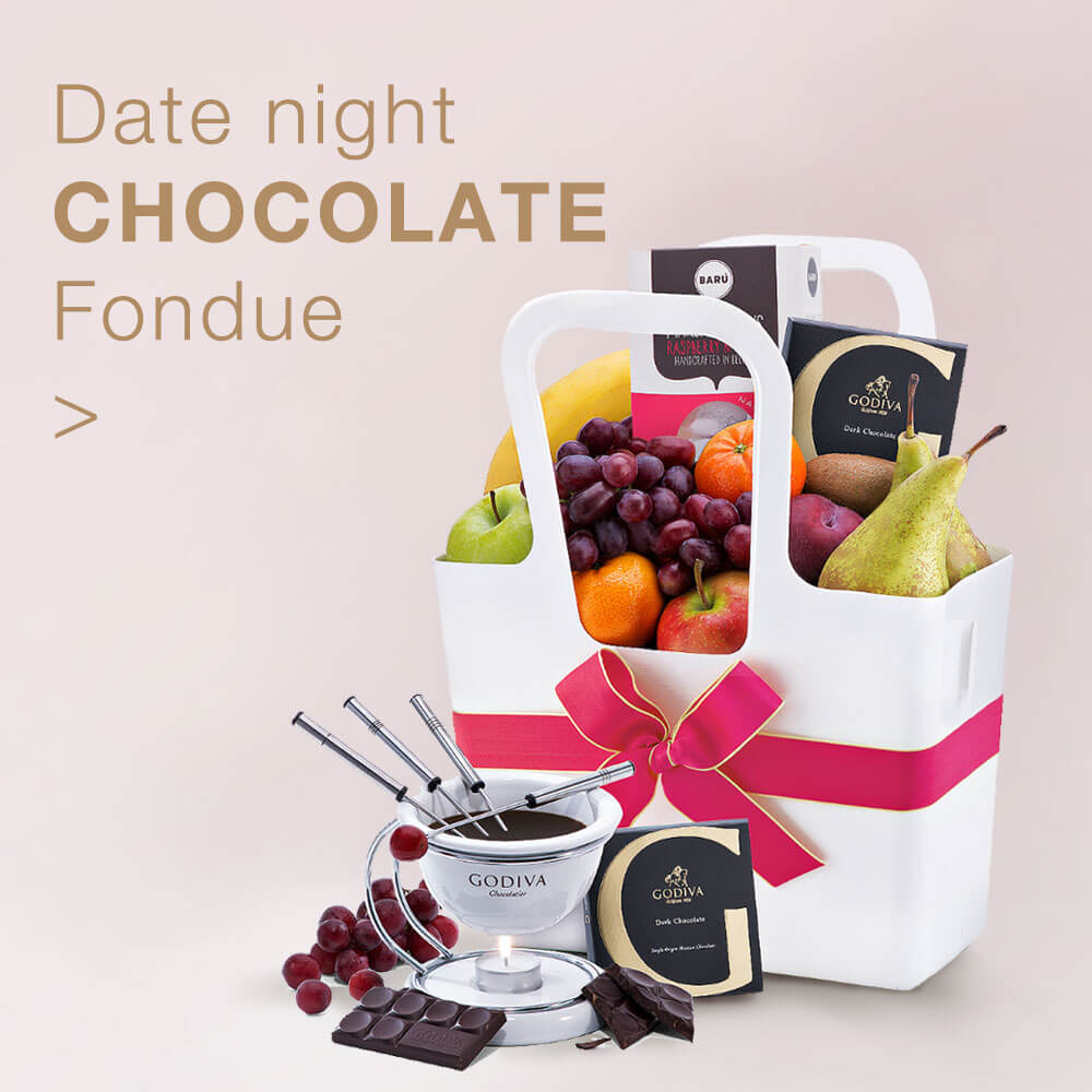 Date night Chocolate Fondue