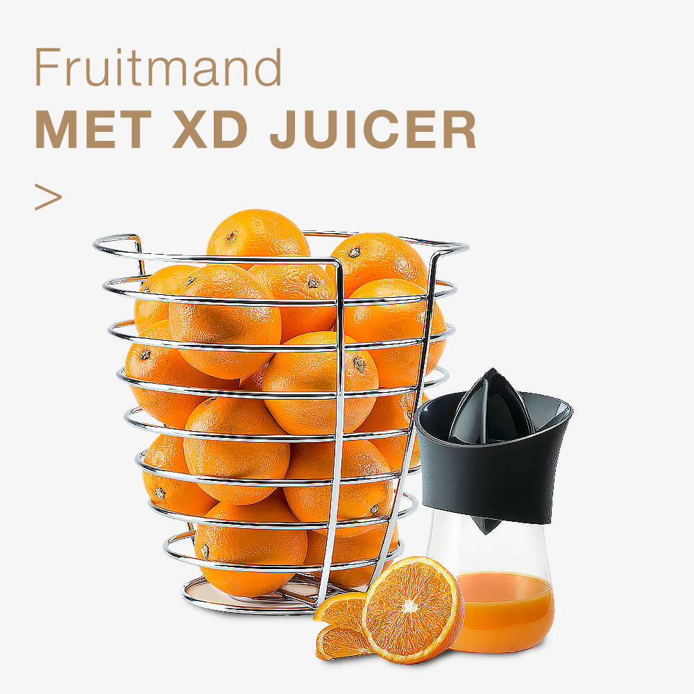 Gift.be fruit suggestie fruitmand met xd juicer